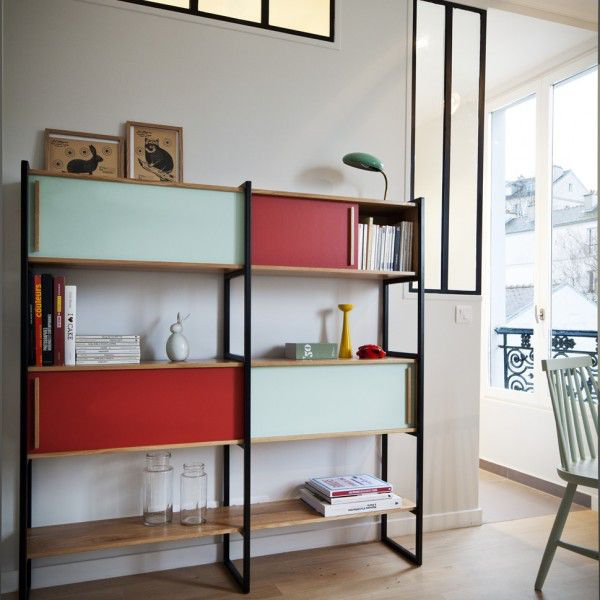 etagere-bibliotheque-gaspard-tomate