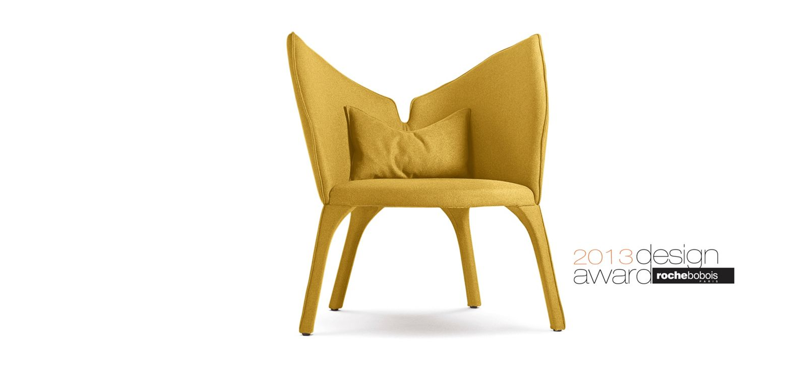 Fauteuil-Lady-B-Roche-bobois-jaune