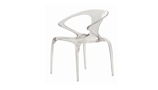 Chaise plexiglass roche bobois table de lit - Chaise plexiglass transparente ...