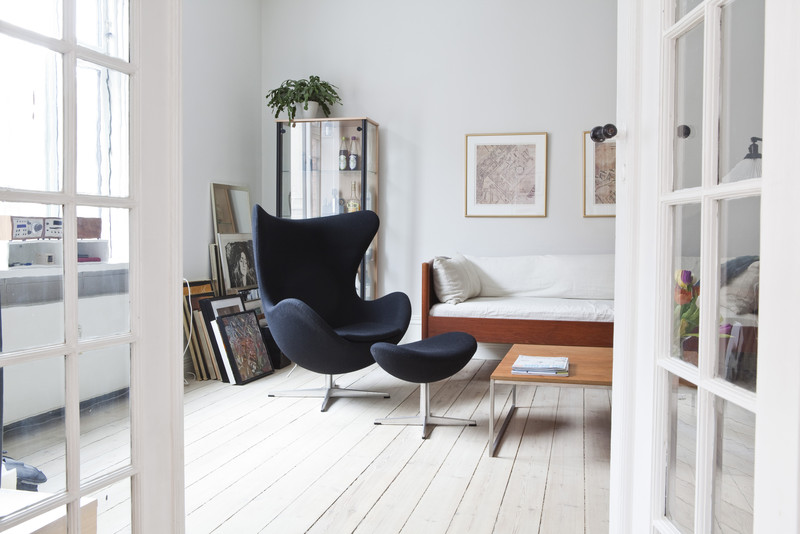 le fauteuil egg chair d 39 arne jacobsen guten morgwen. Black Bedroom Furniture Sets. Home Design Ideas