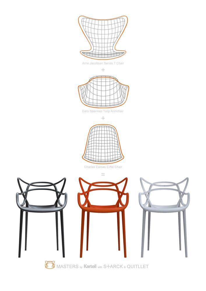 la chaise masters de philippe starck guten morgwen. Black Bedroom Furniture Sets. Home Design Ideas