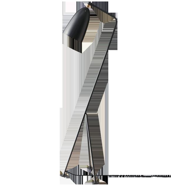 le lampadaire grasshopper de greta m grossman guten morgwen. Black Bedroom Furniture Sets. Home Design Ideas