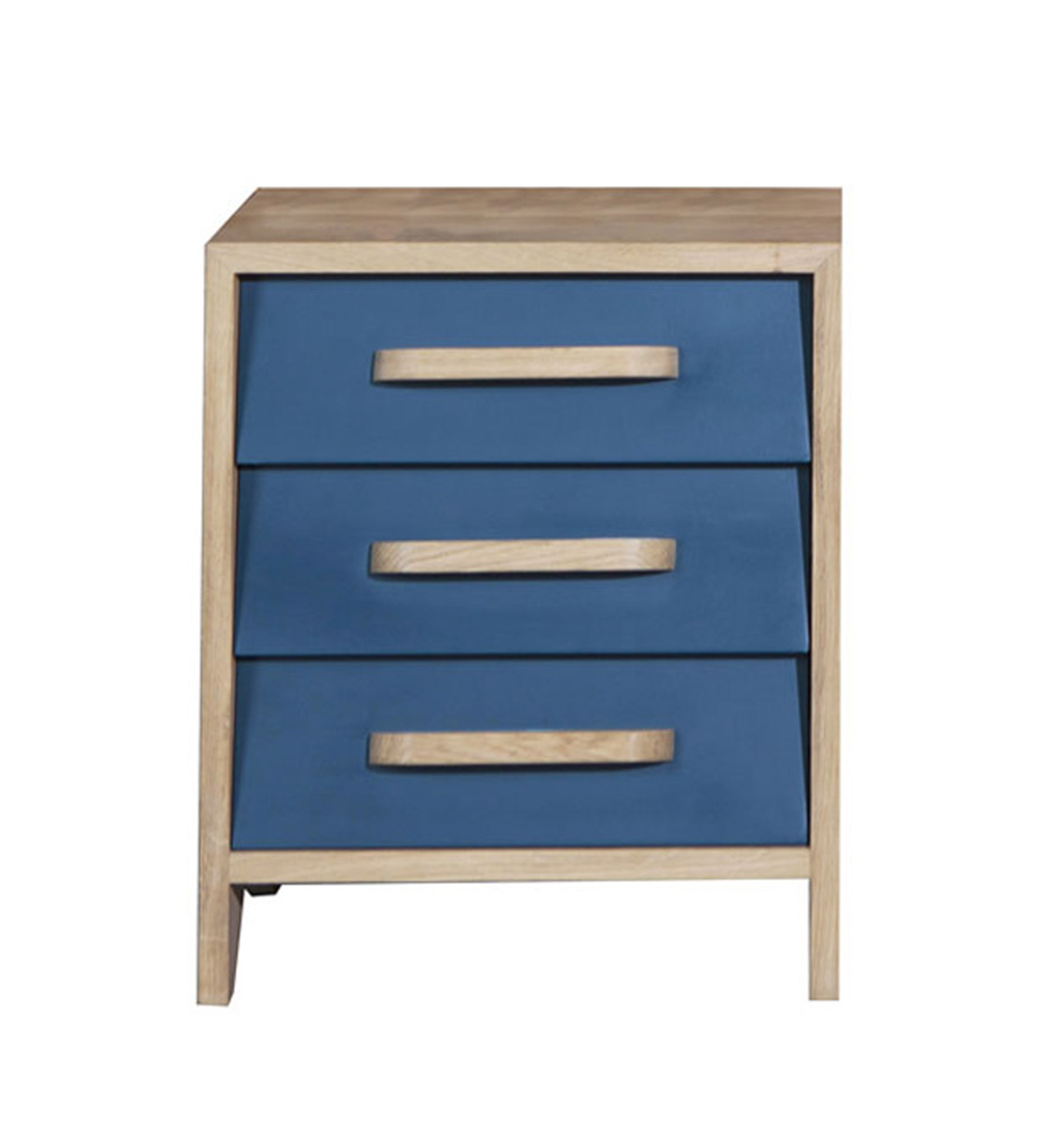 table chevet bleu