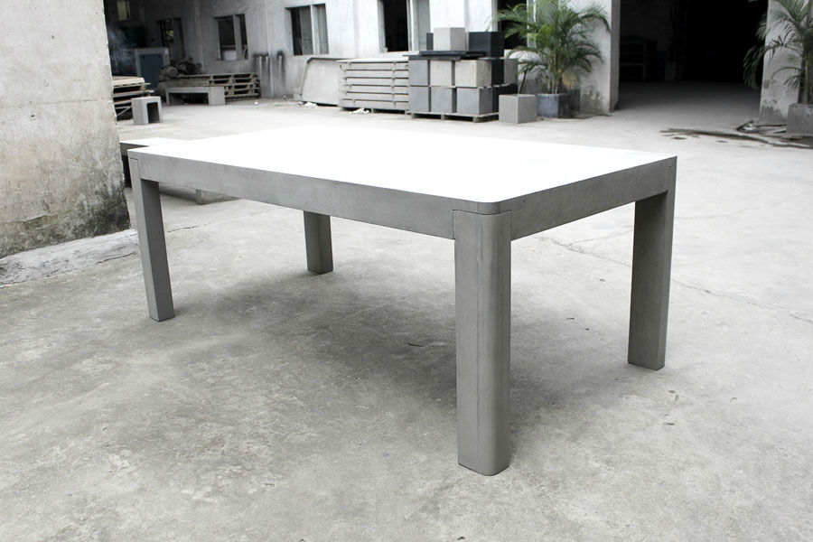 table jardin beton great salon de jardin en beton best of stunning fabriquer table jardin with. Black Bedroom Furniture Sets. Home Design Ideas