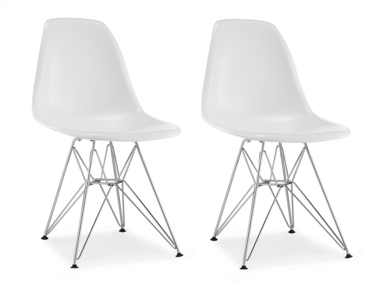 Chaise Dsr VOGA Plastique Blanc2