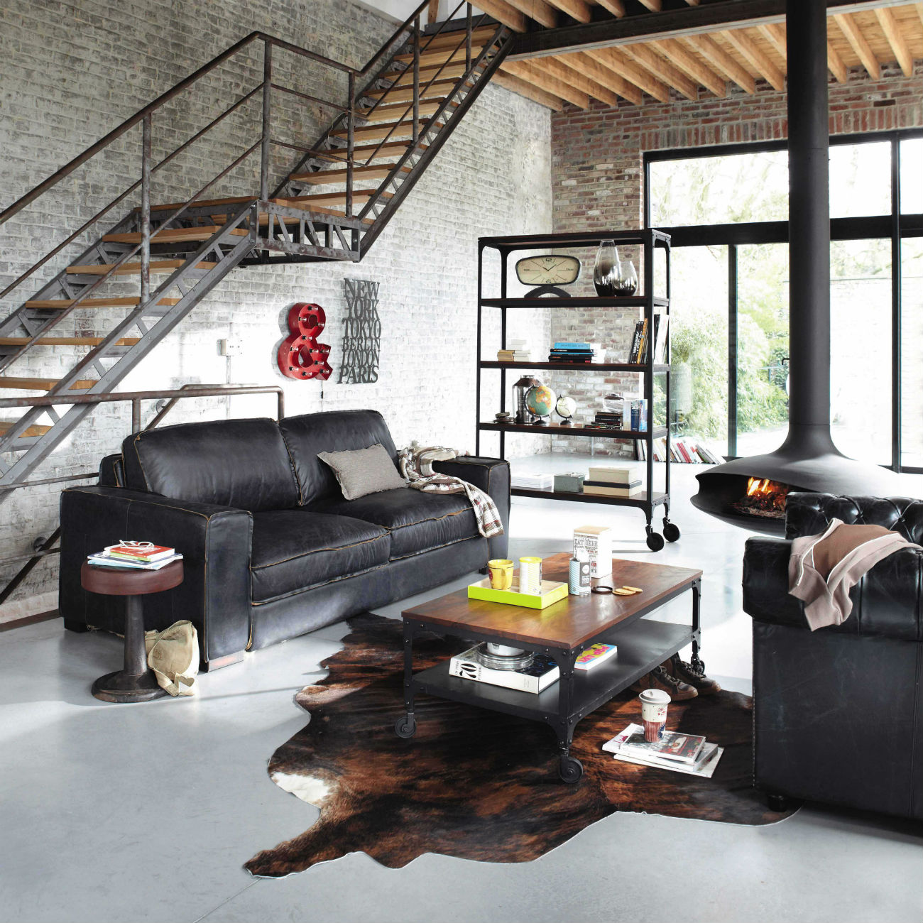 d co loft maison du monde. Black Bedroom Furniture Sets. Home Design Ideas