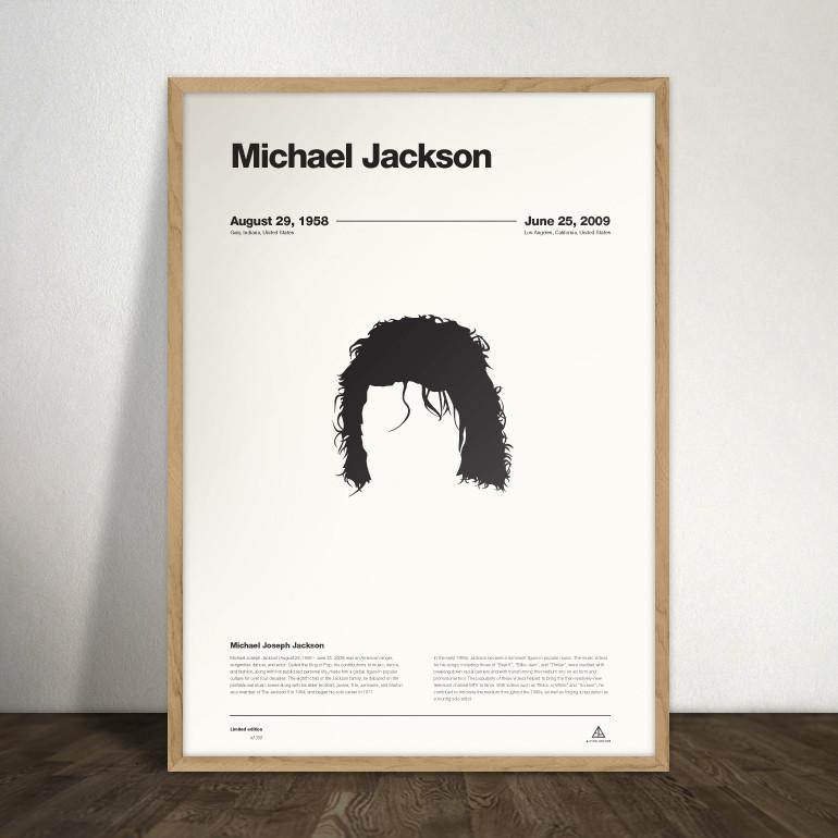 affiche-Never-Forget-Ejvind-Arthur-michael-jackson