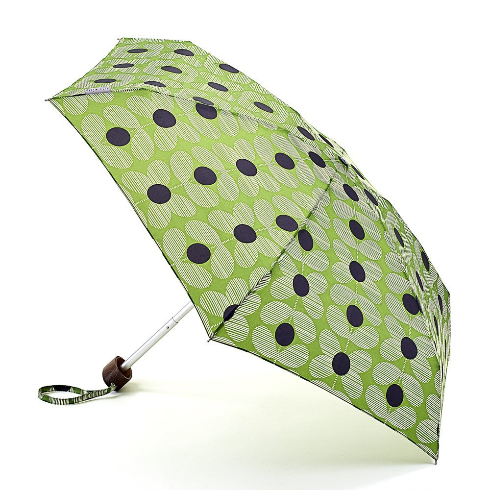 Parapluie-Orla Kiely-bleu-vert