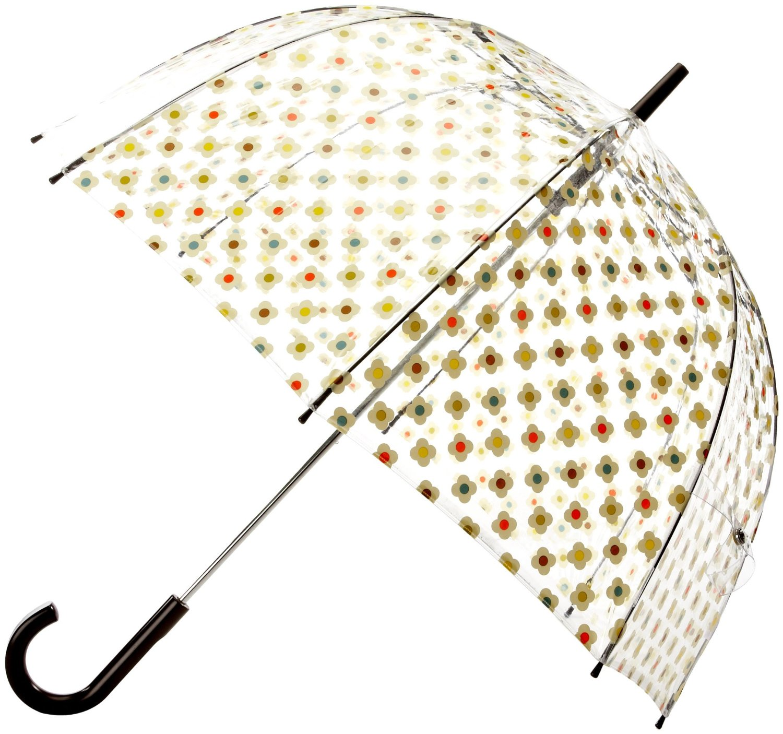 Parapluie-Orla Kiely-multicolore-transparent
