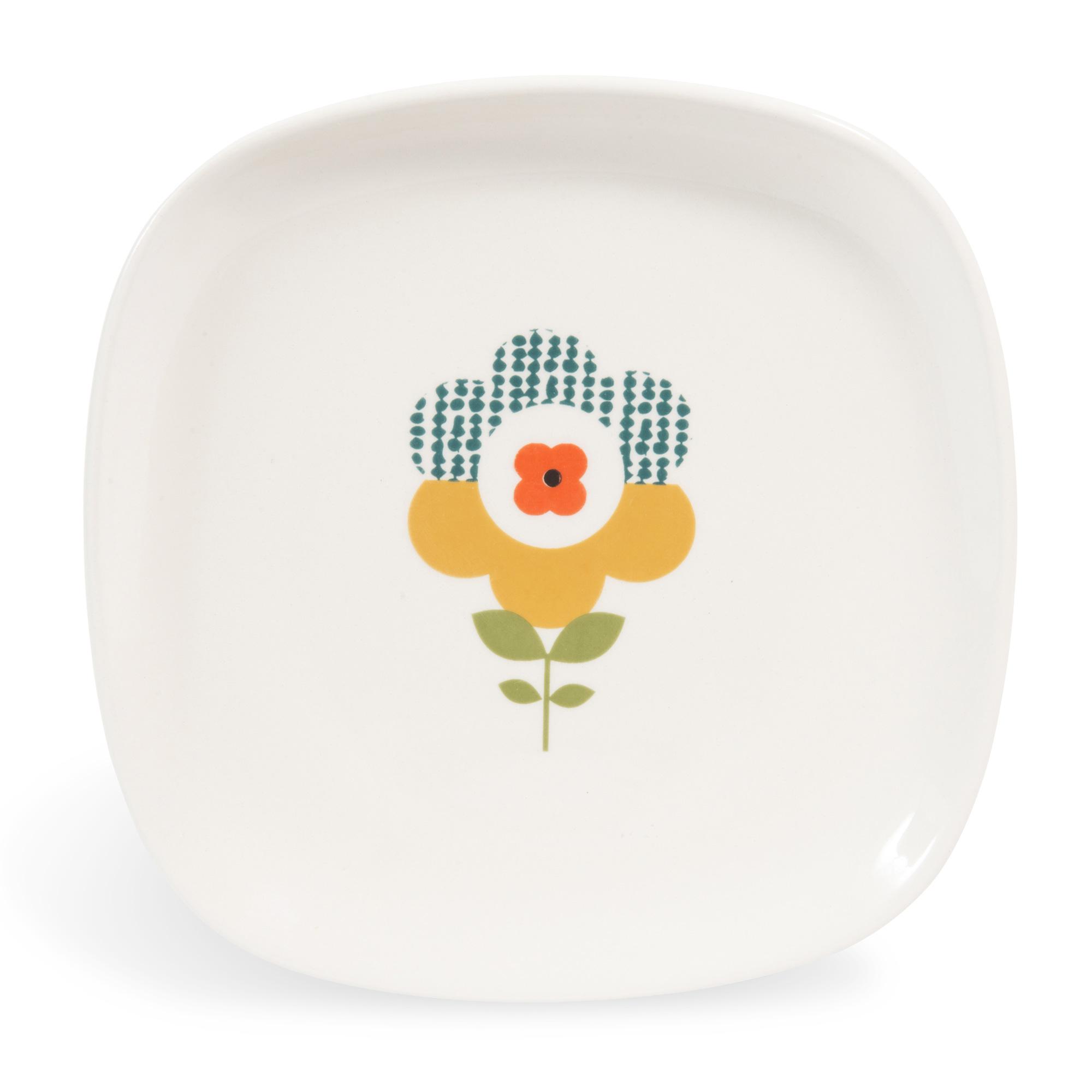 Brigitte la collection de vaisselle vintage par maisons - Assiette maison du monde ...