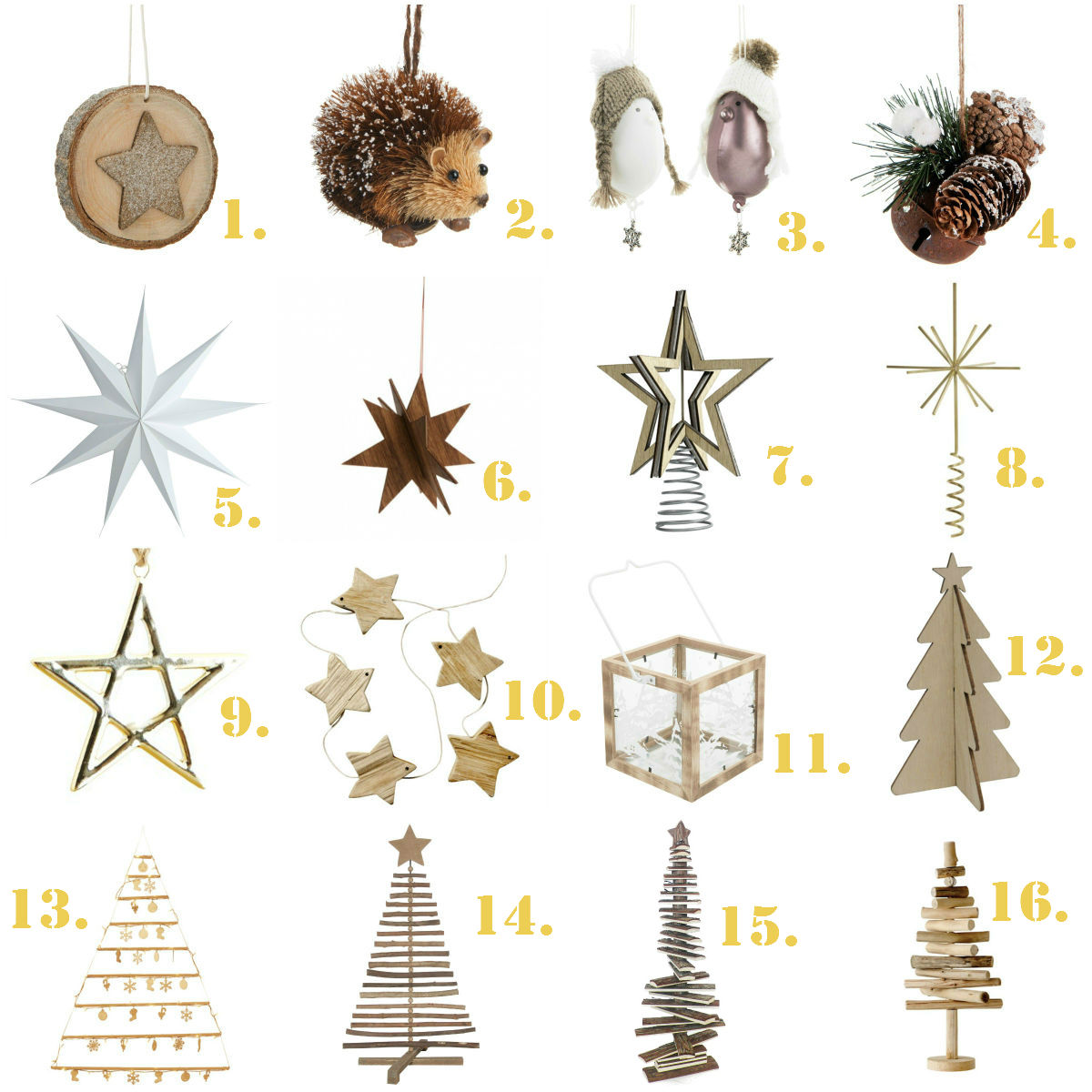 Une d coration de no l scandinave guten morgwen - Image decoration de noel ...