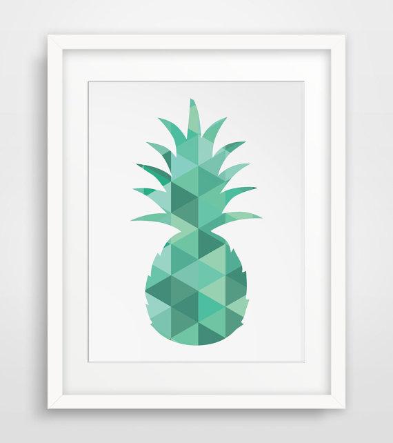 Affiche-deco-design-ananas