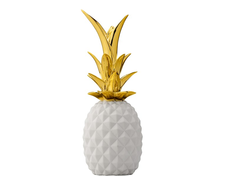 L 39 ananas le fruit star de la d co guten morgwen for Objet de decoration