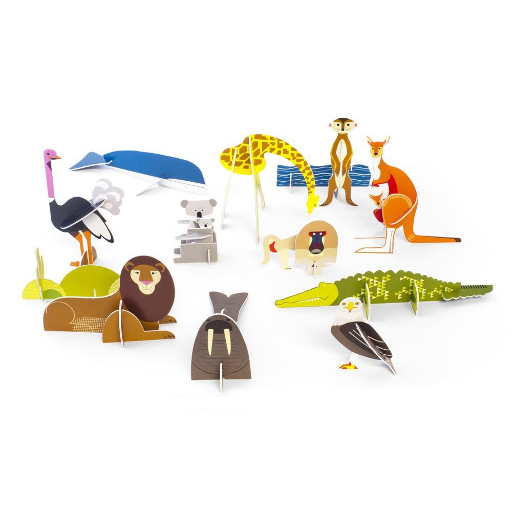 animaux-sauvages-design-carton-studio-roof