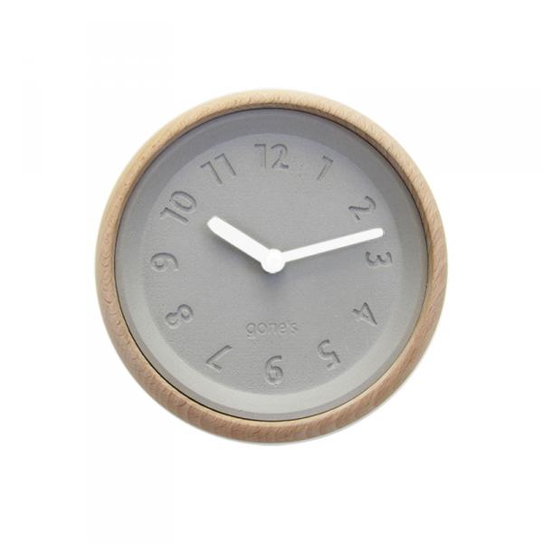 Horloge-murale-toupie-blanche