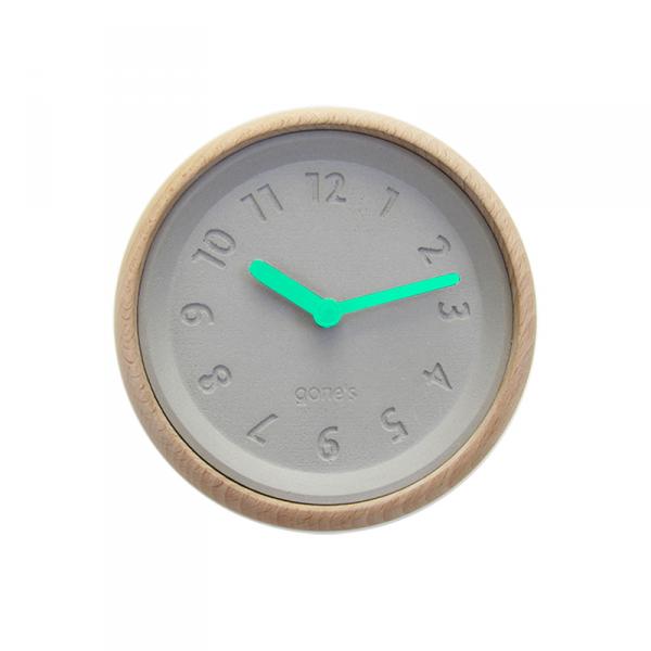 Horloge-murale-toupie-bleu
