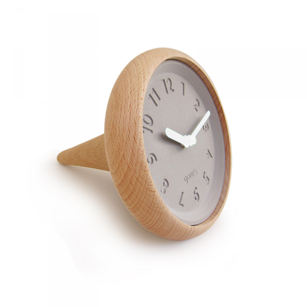Horloge-toupie-gones-blanche