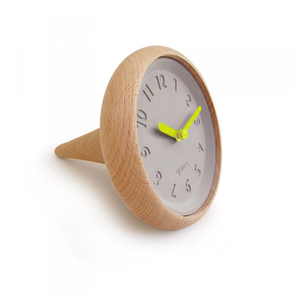 Horloge-toupie-gones-jaune