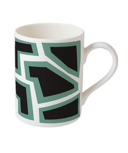 Mug-Tasse-Nathalie-Du-Pasquier-Green-Black-Mug