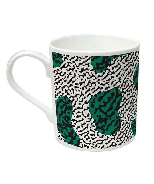 Mug-Tasse-Nathalie-Du-Pasquier-Green-Black