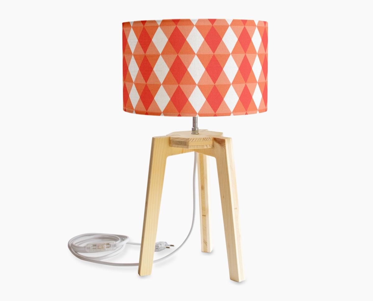 petite-lampe-kaleidoscope-orange-trpeied-bois
