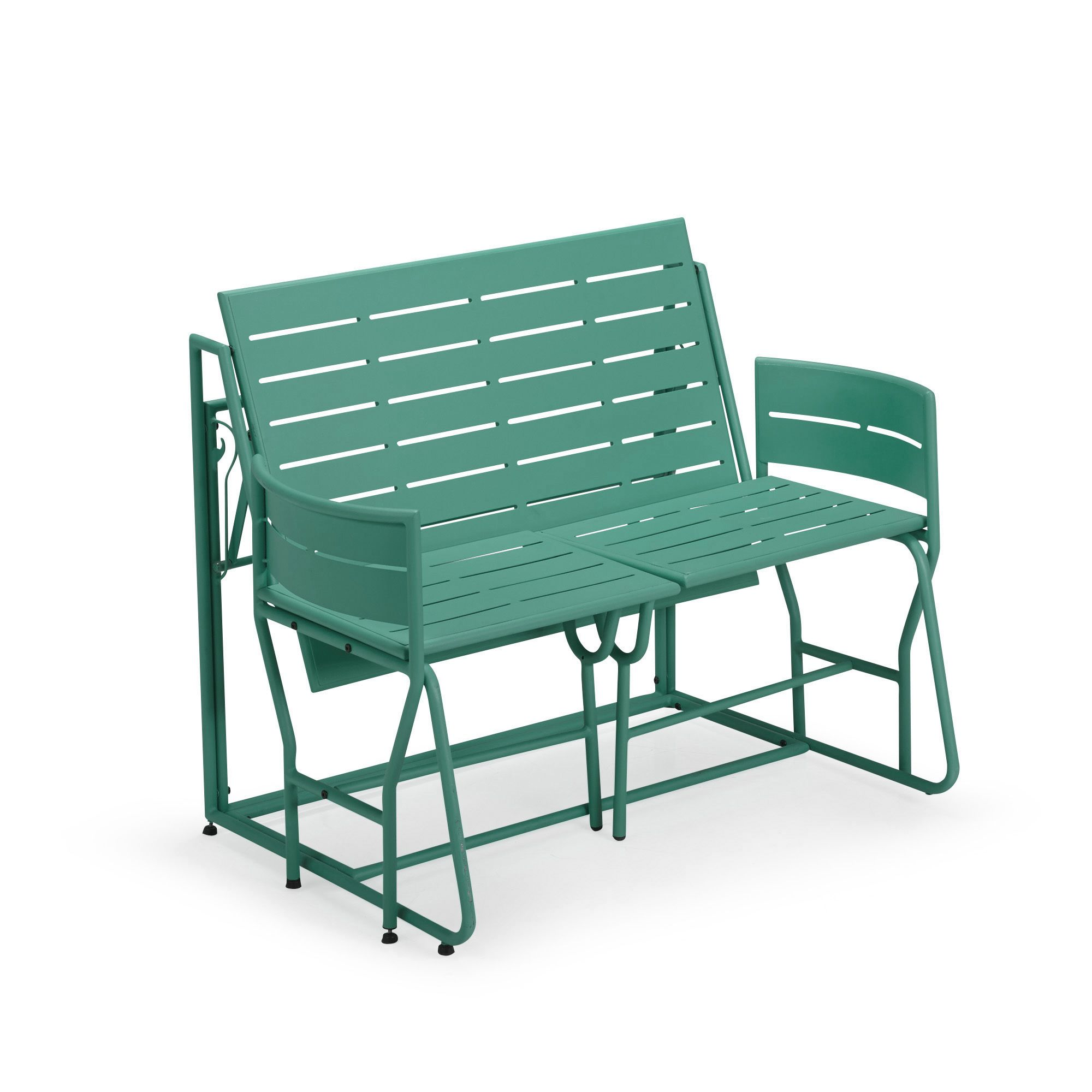 Picnic le salon de jardin balcon transformable 2 en 1 for Petit salon de jardin pour balcon