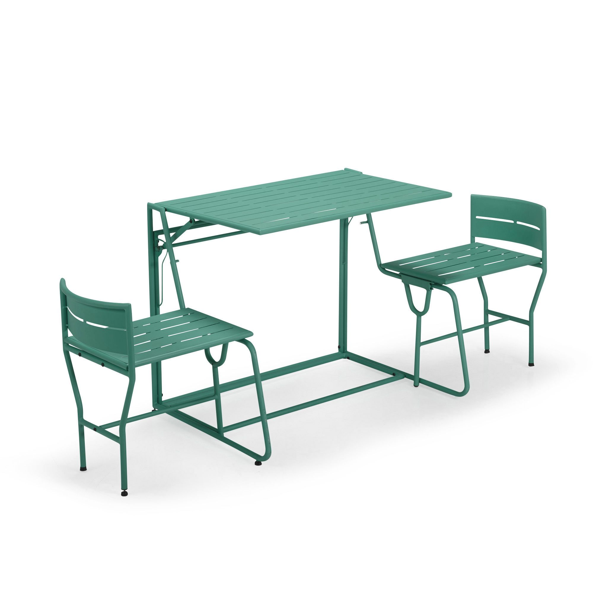 Picnic le salon de jardin balcon transformable 2 en 1 for Les salons de jardin