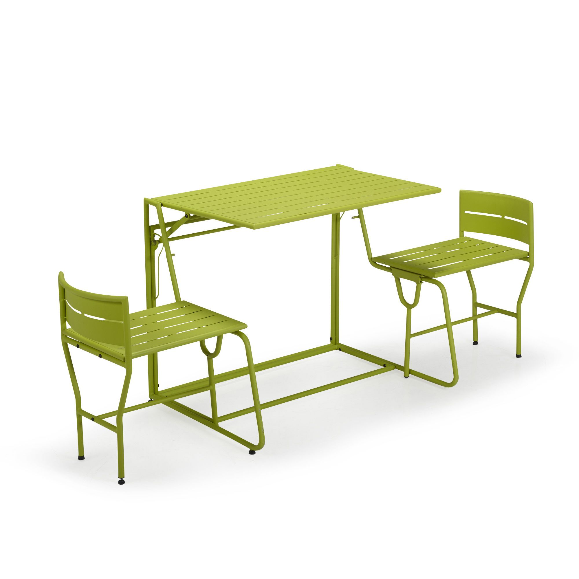 Picnic le salon de jardin balcon transformable 2 en 1 for Mini salon de jardin