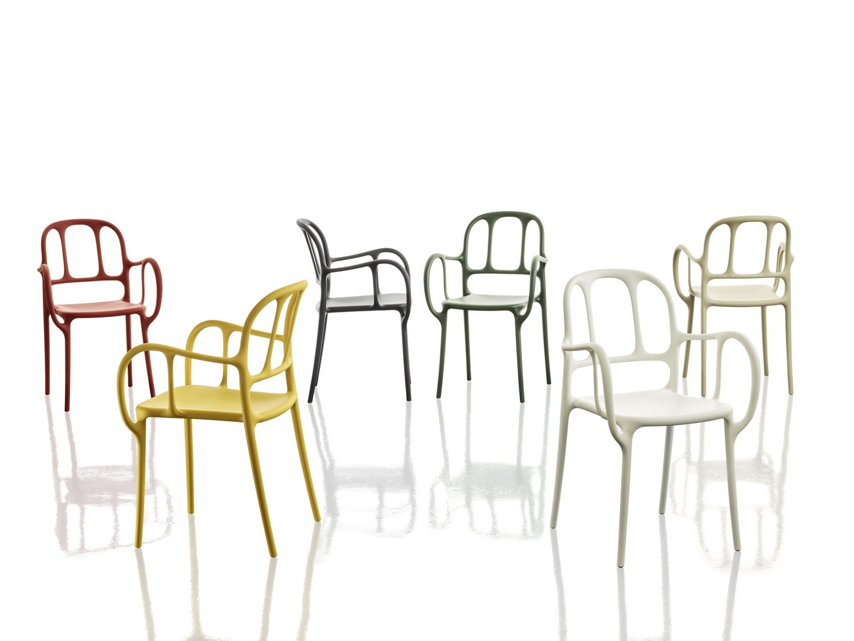 Chaise-design-Mila-Magis