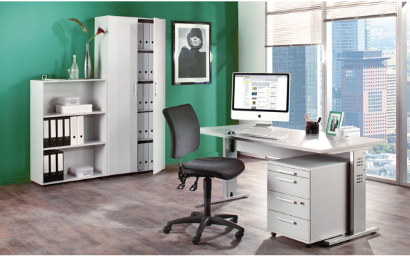 comment am nager et d corer son bureau domicile guten. Black Bedroom Furniture Sets. Home Design Ideas