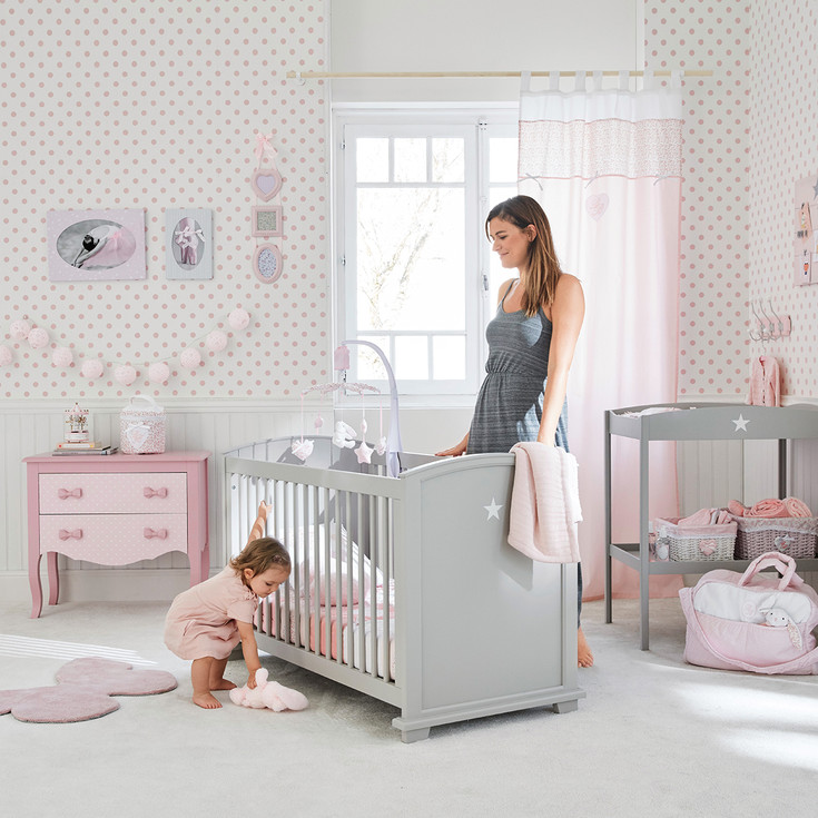 12 inspirations pour la chambre de b b guten morgwen for Photo chambre bebe fille