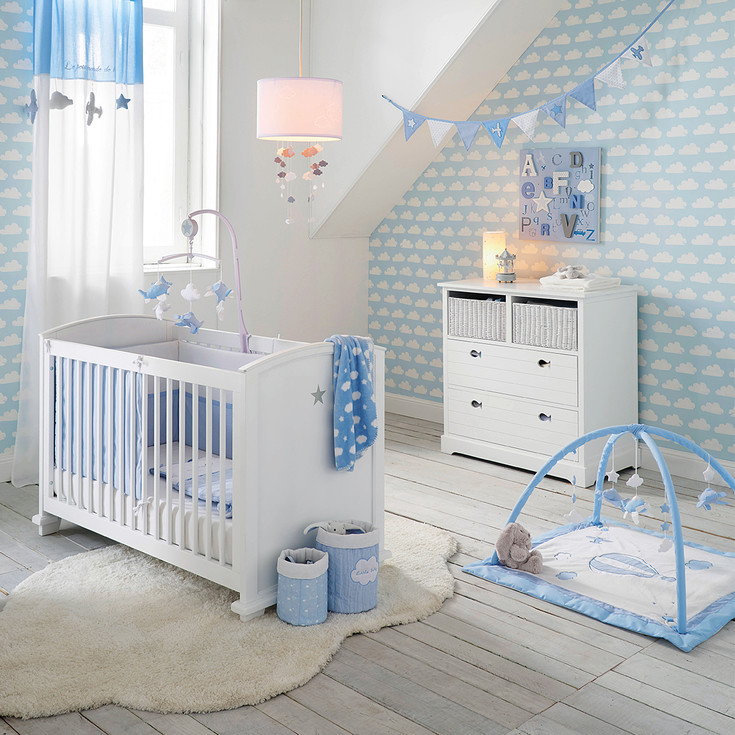 12 inspirations pour la chambre de b b guten morgwen for Collection chambre bebe garcon