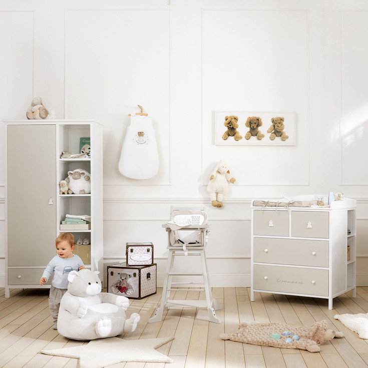 chambre enfant mixte excellent chambre de bb mixte with. Black Bedroom Furniture Sets. Home Design Ideas