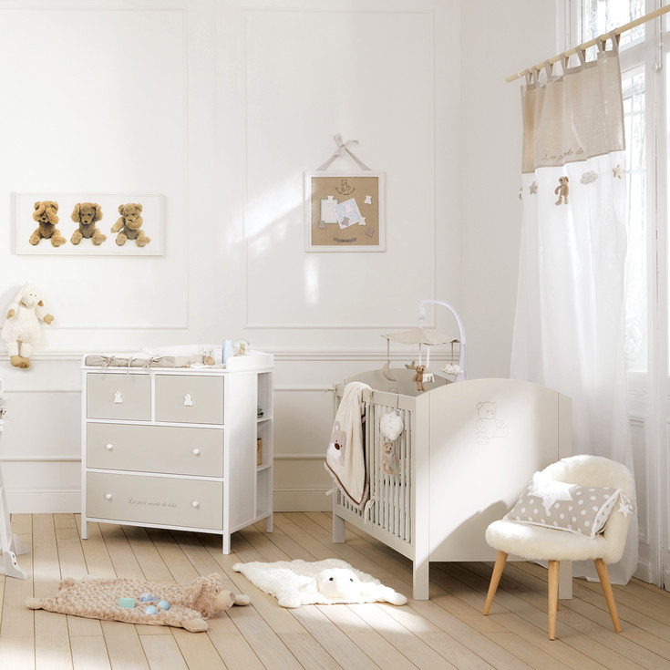 Great inspiration chambre bb mixte chambre bebe mixte with for Amenagement chambre bb