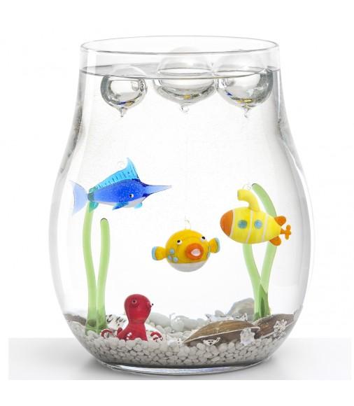 l 39 aquarium en verre par leonardo guten morgwen. Black Bedroom Furniture Sets. Home Design Ideas