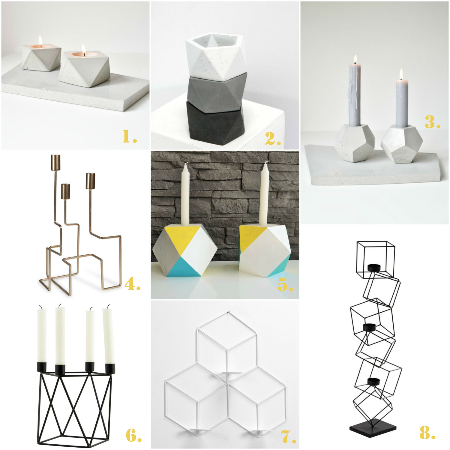 selection-bougeoirs-geometriques-design