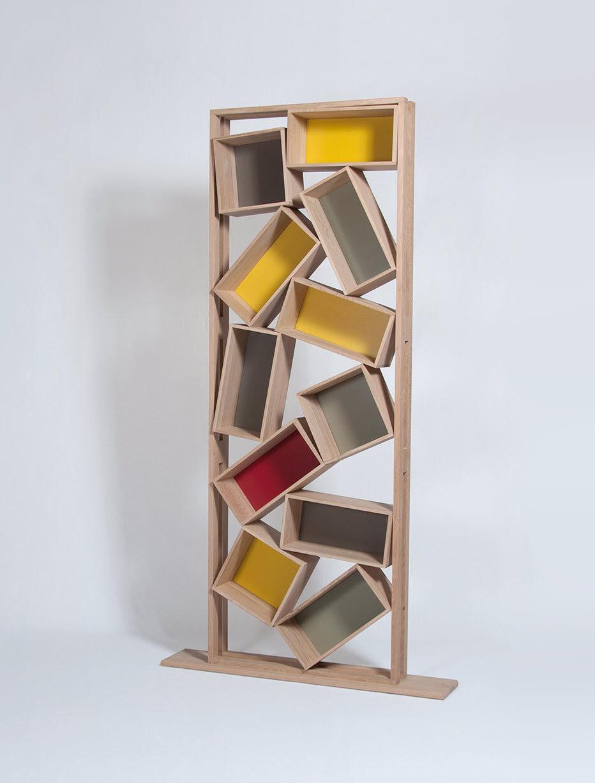 les biblioth ques en bois de drugeot labo guten morgwen. Black Bedroom Furniture Sets. Home Design Ideas