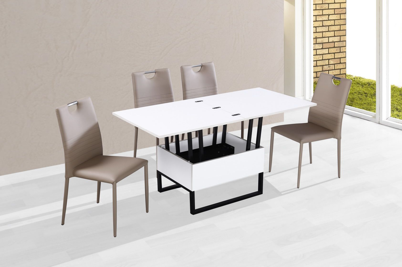 Des tables basses transformables guten morgwen - Table basse relevable cassidy ...