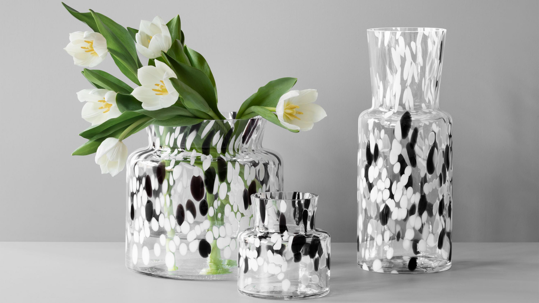 bj rk gran les vases en verre design de sara persson guten morgwen. Black Bedroom Furniture Sets. Home Design Ideas
