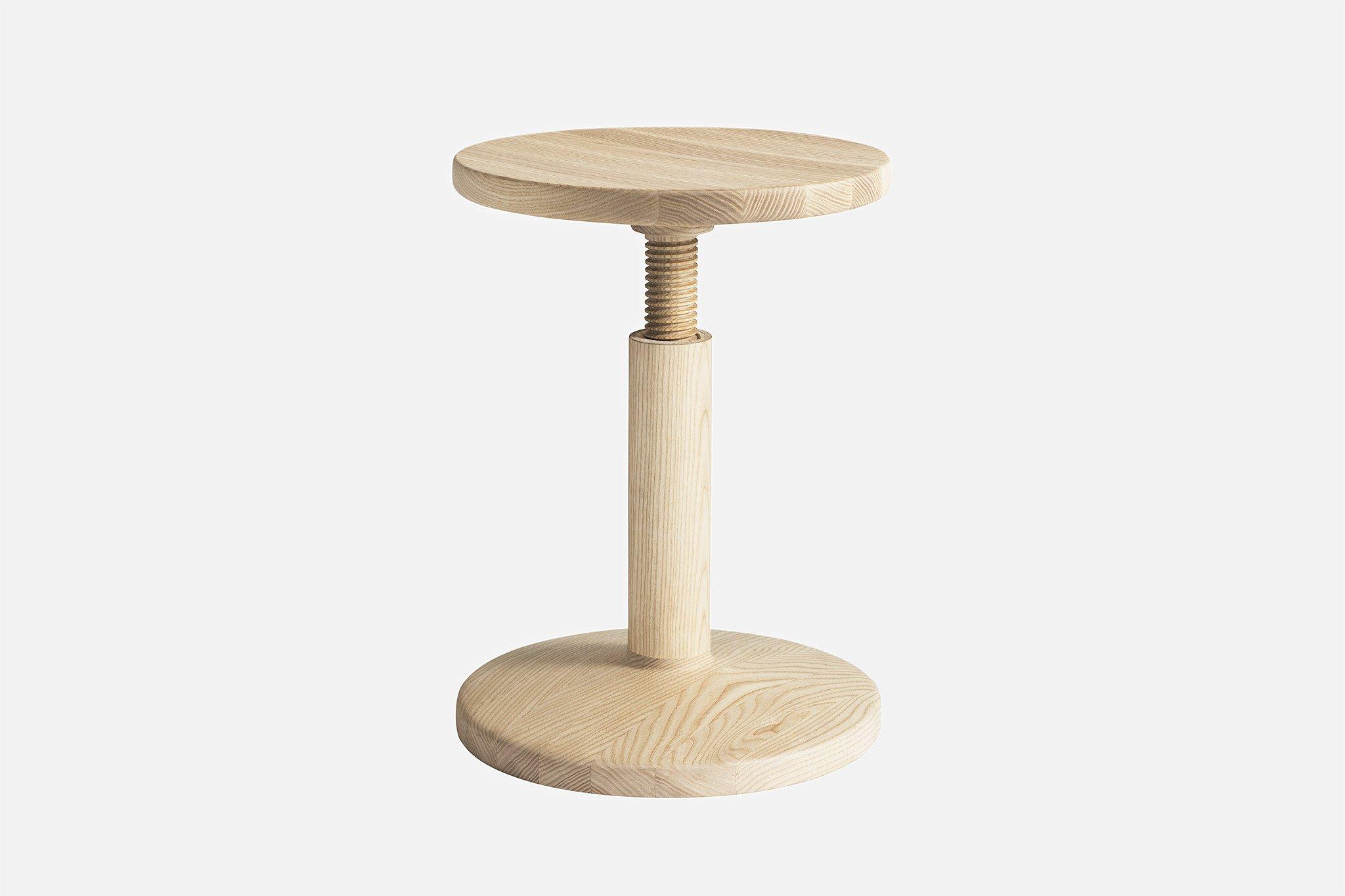 Tabouret All Wood Stool Par Karoline Fesser Guten Morgwen