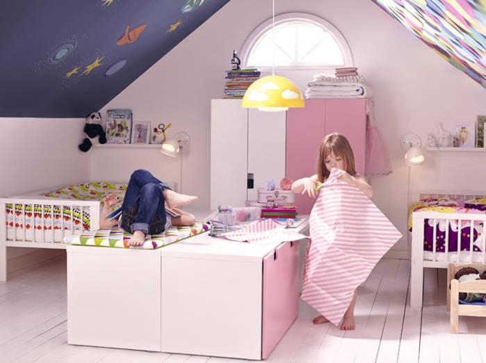 Chambre Enfant Sous Combles GV81 | Jornalagora