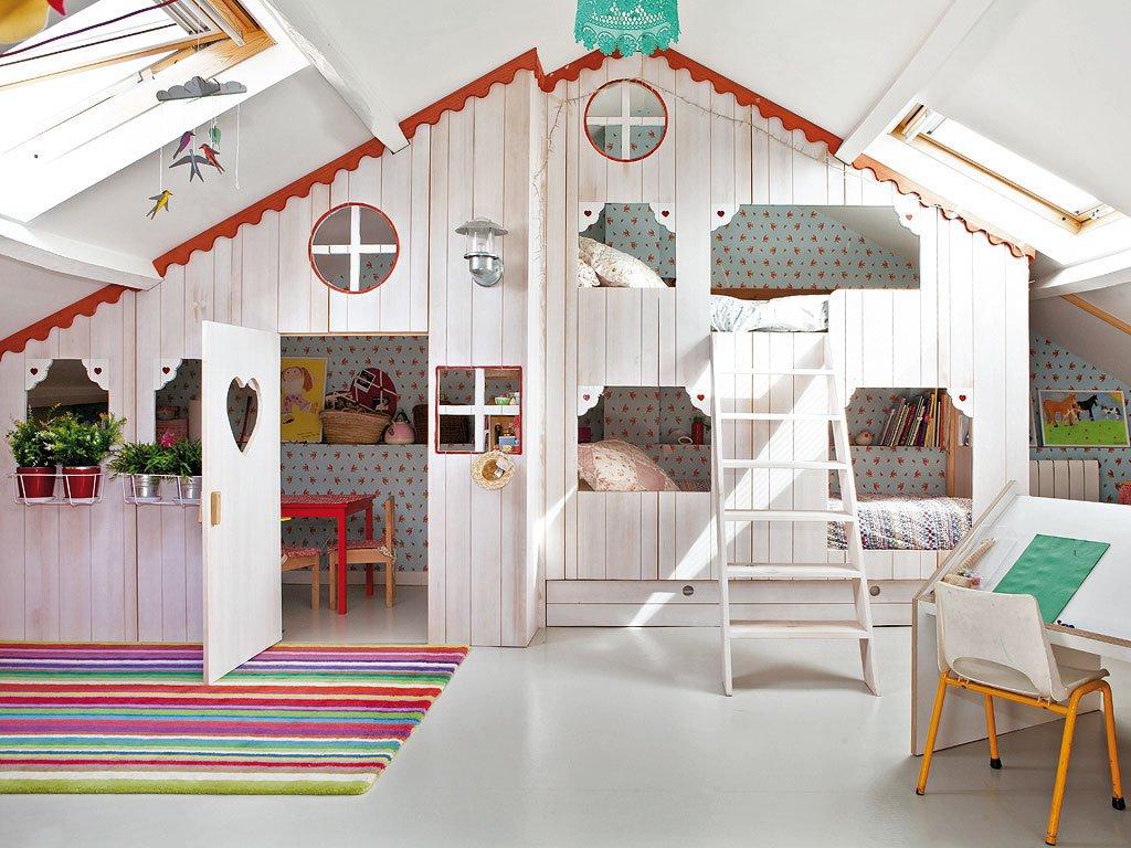Comment aménager une chambre d\'enfant mansardée | guten morgwen